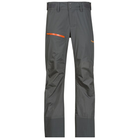Bergans Storen Pants Lady Solid Dark Grey/Pumpkin